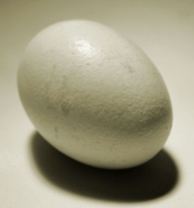 Spin that egg to determine if it is a hardboiled or a raw egg?