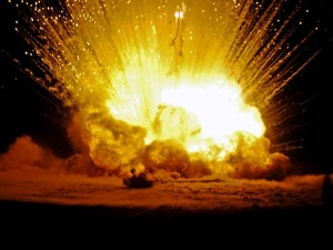 Chemical explosions - what causes them?