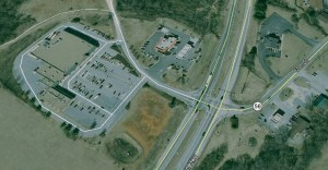 Callohill Drive, Lovingston, Nelson County, Virginia mall area - Image: Google Maps
