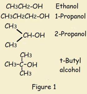 alcohol protonation