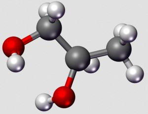 Propylene Glycol - PD Wikimedia Commons by Karlhahn