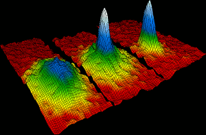 Absolute zero? Bose-Einstein condensate at billionths of a degree. Image by NIST