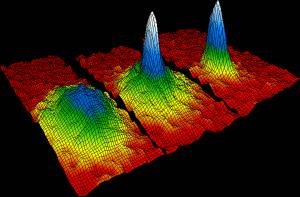 Absolute zero? Bose-Einstein condensate at billionths of a degree. Image by NIST