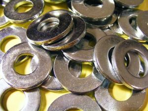 Electroless plating and electroplating often used together.