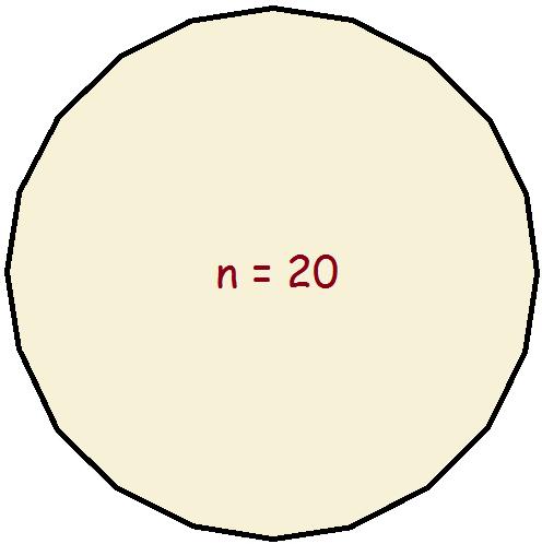 circle a polygon