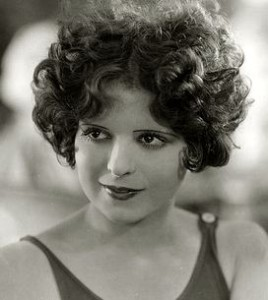 The beautiful actress, Clara Bow. - Image PD Wikimedia Commons