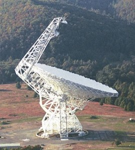 NRAO Green Bank Telescope.