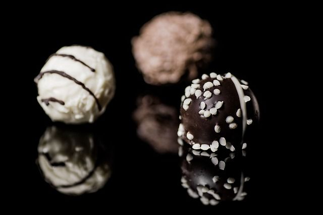 chocolate truffle centers