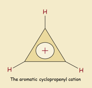 aromatic cyclopropenyl cation