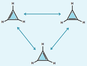 aromatic cyclopenyl cation