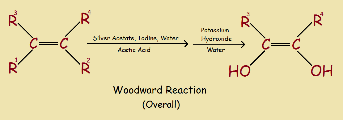 Woodward cis-diols
