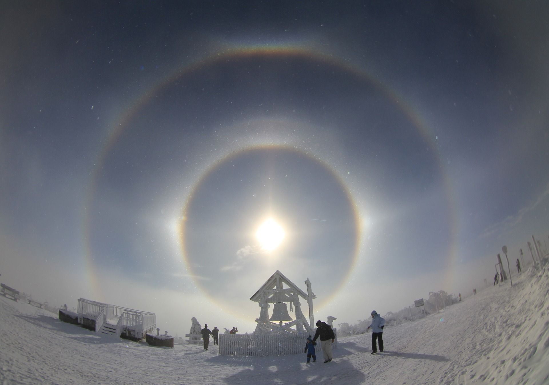 Diamond Dust Halo