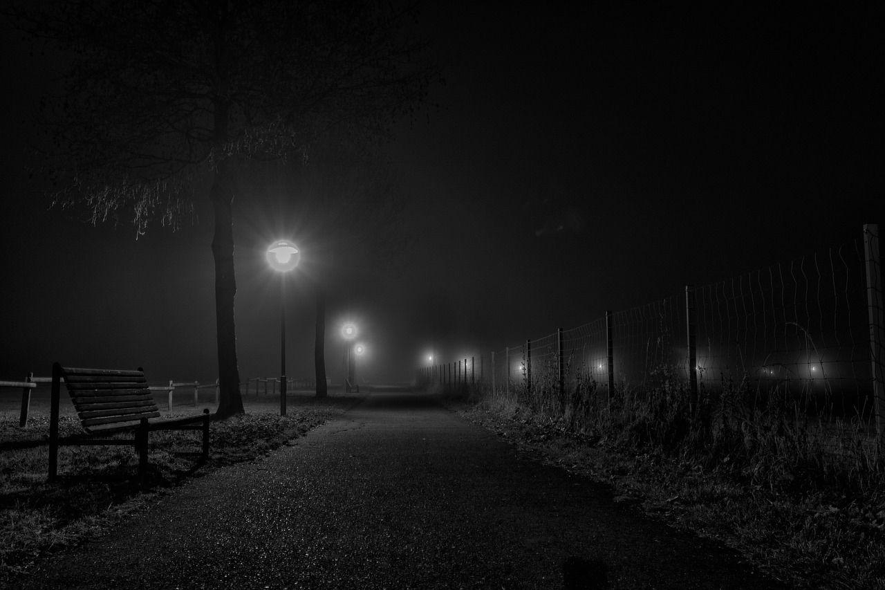 Black ice - freezing fog