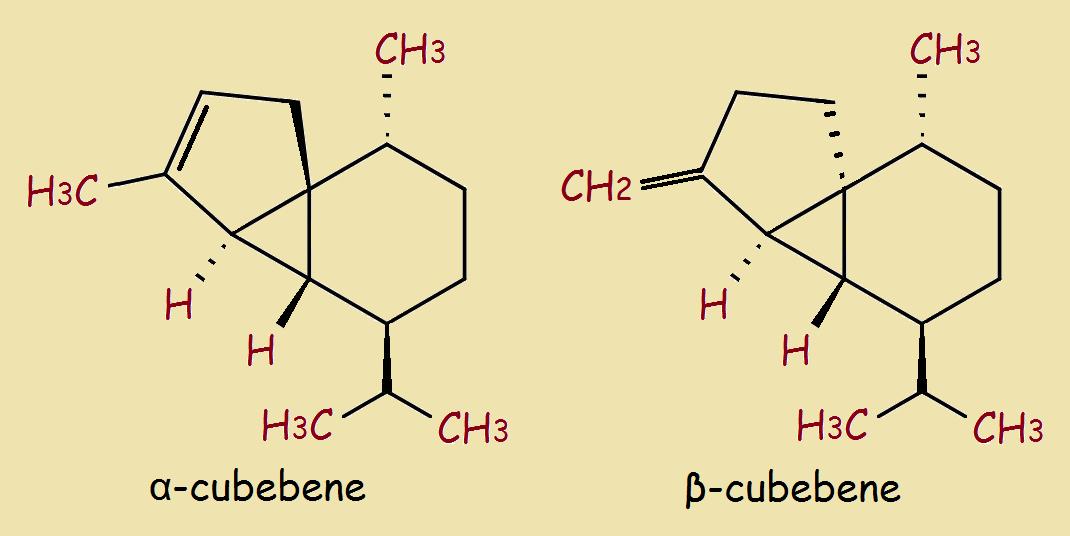alpha and beta cubebene