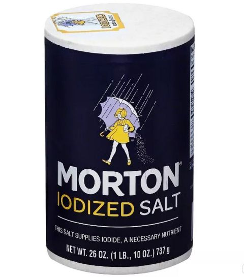 Morton's Iodized Salt
