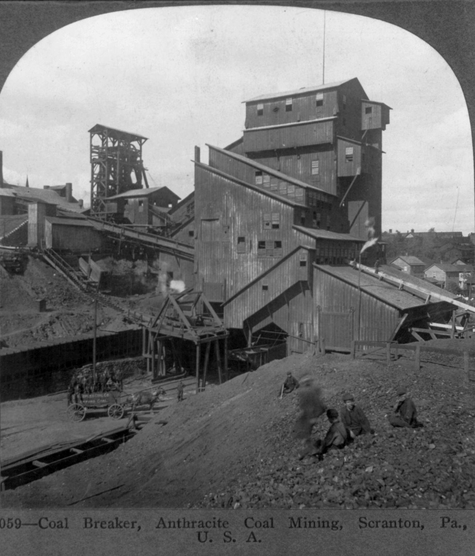 Coal Breaker Anthracite Scranton 1905