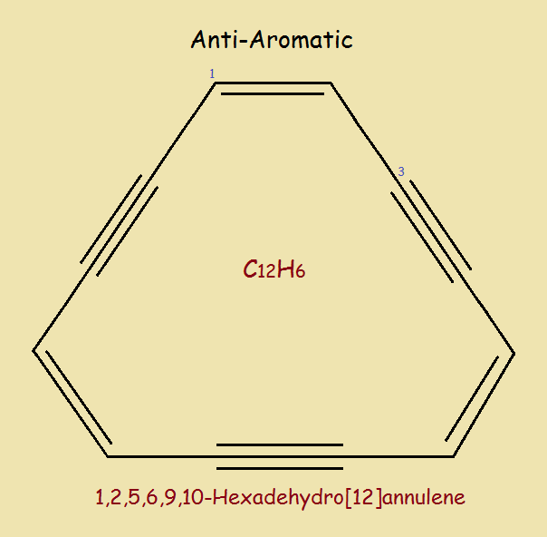 [12]Annulene Derivative