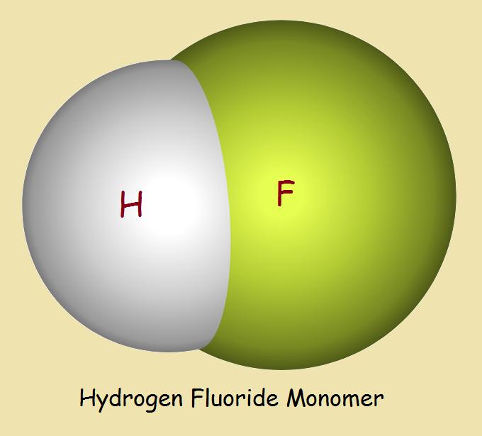 Hydrofluoric acid monomer